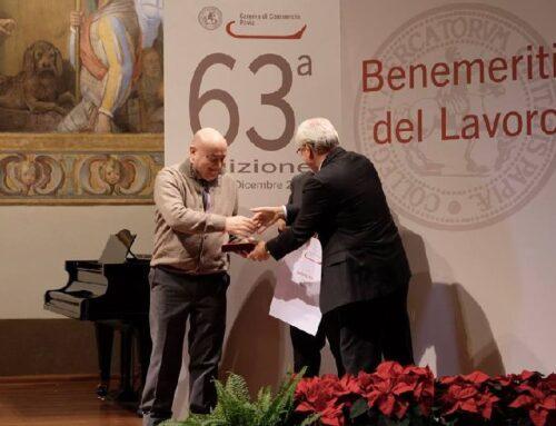 Saser Premiata dalla Camera di Commercio di Pavia