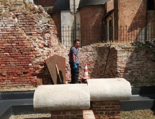 Seconda pulizia delle fontane Pavesi